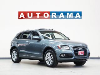 Used 2013 Audi Q5 NAVIGATION LEATHER SUNROOF BACKUP CAMERA 4WD for sale in North York, ON
