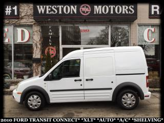 Used 2010 Ford Transit Connect XLT*AUTO*A/C*SHELVING* for sale in York, ON