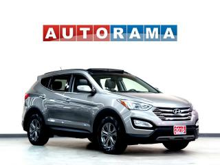 Used 2016 Hyundai Santa Fe 4WD LEATHER SUNROOF BACKUP CAMERA for sale in North York, ON