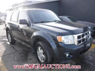 Used 2008 Ford ESCAPE XLT 4D UTILITY 2WD for sale in Calgary, AB