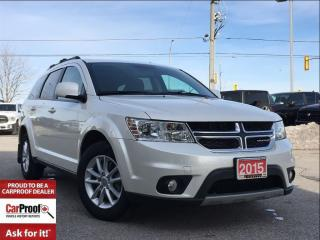 Used 2015 Dodge Journey SXT**7 PASSENGER SEATING** for sale in Mississauga, ON