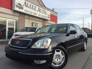 Used 2002 Lexus LS 430 Previous US vehicle. certified and e-tested for sale in North York, ON