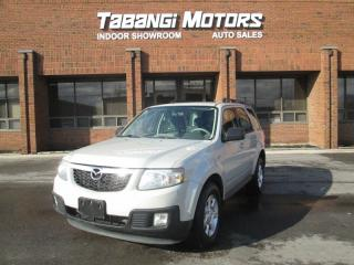 Used 2009 Mazda Tribute AWD   POWER GROUP   ALLOYS  KEYLESS  AUX PLUG IN  for sale in Mississauga, ON
