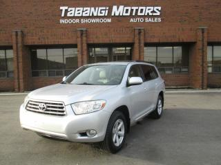 Used 2008 Toyota Highlander AWD | 8 PASSENGER | BACK UP CAMERA | LEATHER | for sale in Mississauga, ON
