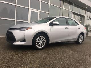 Used 2017 Toyota Corolla LE / NO ACCIDENT - LOCAL BC CAR for sale in Surrey, BC