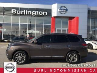 Used 2015 Nissan Pathfinder SL for sale in Burlington, ON