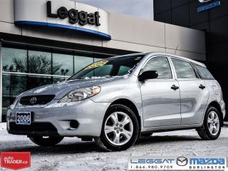 Used 2006 Toyota Matrix 4DR WGN AUTO STD for sale in Burlington, ON