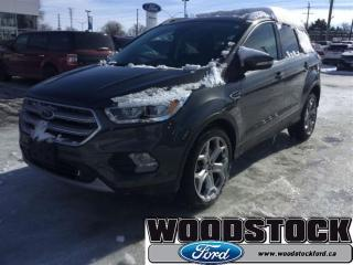 Used 2017 Ford Escape Titanium - Leather Seats -  Bluetooth for sale in Woodstock, ON