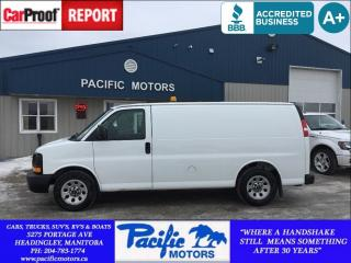 Used 2011 GMC Savana 1500 Cargo*AWD*5.3L V8*Financing Available for sale in Headingley, MB