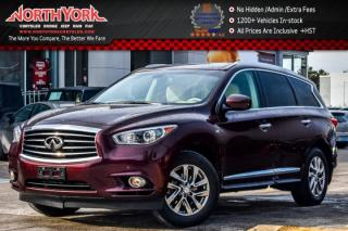 Used 2014 Infiniti QX60 AWD|Premium+Pkg|7Seater|Sunroof|Nav|SurroundCam|Leather|18