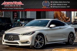 Used 2017 Infiniti Q60 Coupe 3.0t AWD|Nav|Leather|Sunroof|BOSE|Heat.Frnt.Seats|19