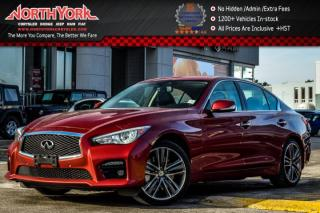 Used 2014 Infiniti Q50 Sport AWD|TechnologyPkg|SurroundCam|Sunroof|Nav|Leather|19