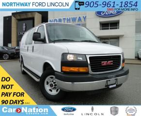 Used 2015 GMC Savana 2500 1WT | GREAT WORK VAN | LOW KM | V8 | for sale in Brantford, ON