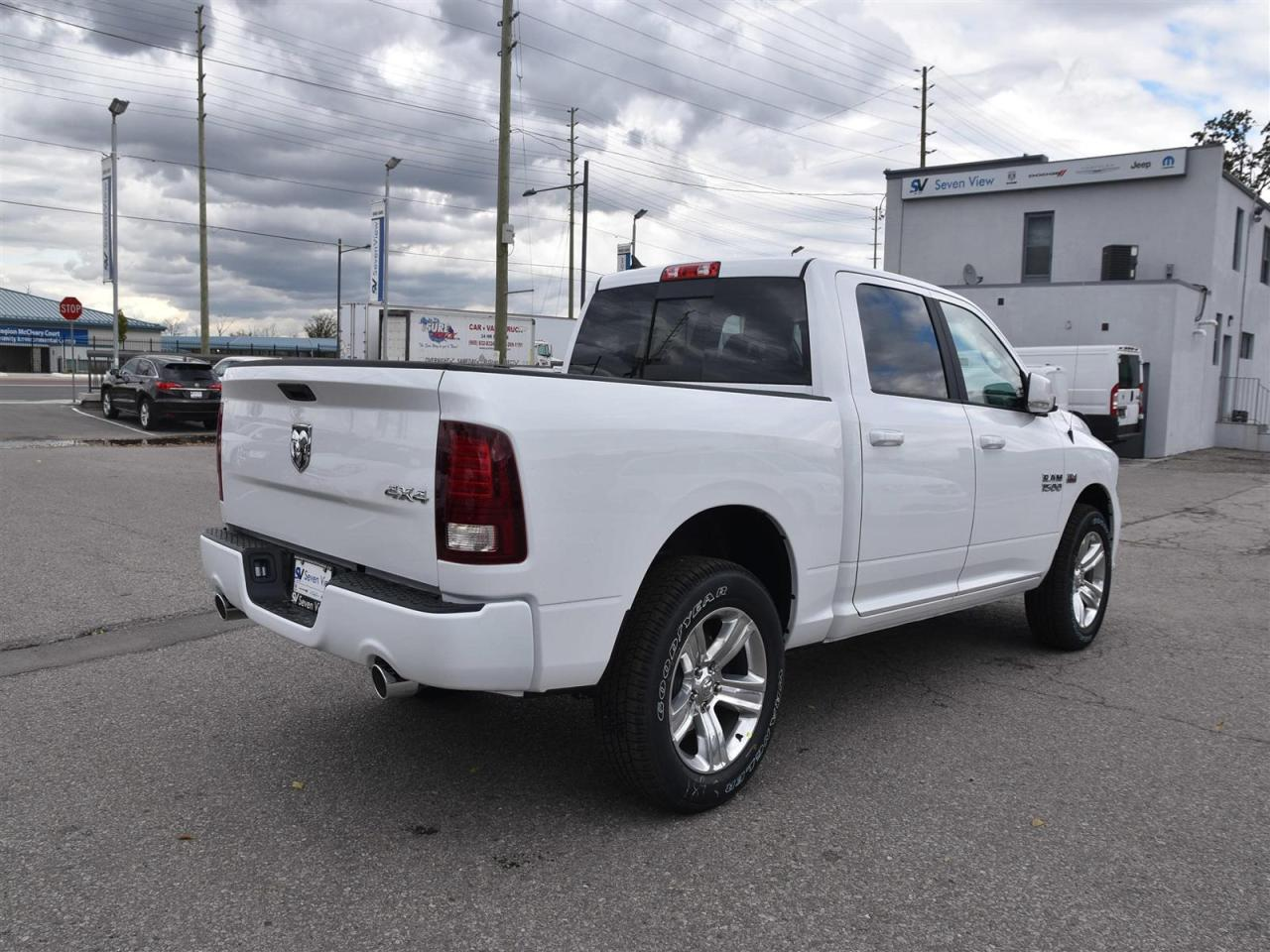 Used 2018 Ram 1500 Sport Sport Hood Dual Exhaust 4x4 For