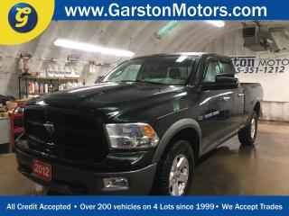 Used 2012 Dodge Ram 1500 OUTDOORMAN*QUADCAB*HEMI*4WD*U CONNECT PHONE*KEYLESS ENTRY w/REMOTE START*POWER WINDOWS/LOCKS/HEATED MIRRORS*CLIMATE CONTROL*CRUISE CONTROL*TOW/HAUL MO for sale in Cambridge, ON
