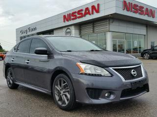 Used 2013 Nissan Sentra SR w/NAV,pwr moonroof,rear cam,heated seats, for sale in Cambridge, ON