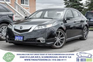 Used 2011 Acura TL Tech Pkg SH-AWD NAVI BackupCam SportPkg for sale in Scarborough, ON