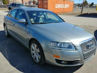 Used 2008 Audi A6 3.2L-AWD for sale in Oshawa, ON