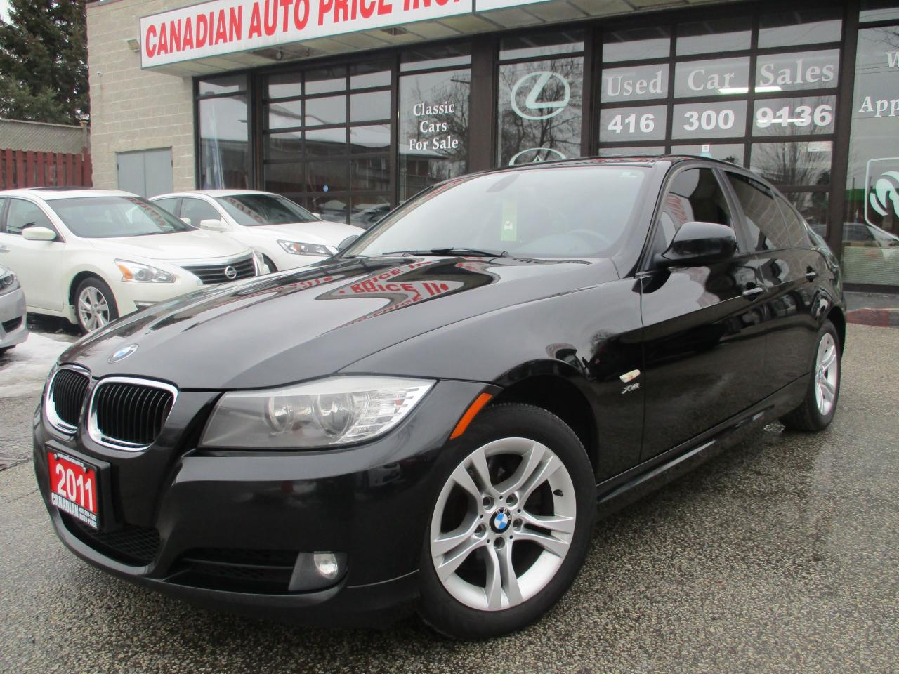 Used 2011 BMW 328xi Sedan M-PKG-LEATHER-ROOF-LOADED for Sale in ...