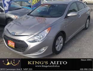 Used 2013 Hyundai Sonata HYBRID, BLUETOOTH CONNECTIVITY for sale in Scarborough, ON