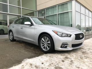 Used 2014 Infiniti Q50 ALL WHEEL DRIVE/NAVIGATION/HEATED SEATS/BACK UP CAMERA/BOSE AUDIO for sale in Edmonton, AB