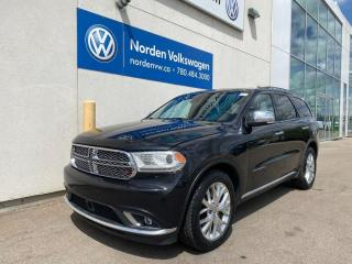 Used 2014 Dodge Durango CITADEL AWD - LEATHER / NAVI / ROOF for sale in Edmonton, AB