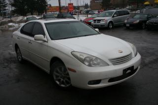 Used 2003 Lexus ES 300 w/Luxury Pkg for sale in Ottawa, ON