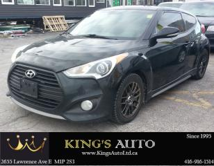 Used 2013 Hyundai Veloster TURBO, LOADED!! HEATED SEATS for sale in Scarborough, ON