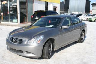 Used 2009 Infiniti G37X  Sport for sale in Ottawa, ON