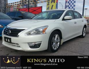 Used 2014 Nissan Altima 2.5 SL, TECH PACKAGE, HEATED SEATS for sale in Scarborough, ON