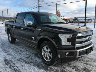 Used 2017 Ford F-150 Cab SuperCrew 4RM 145 po KING RANCH 600A for sale in Gatineau, QC