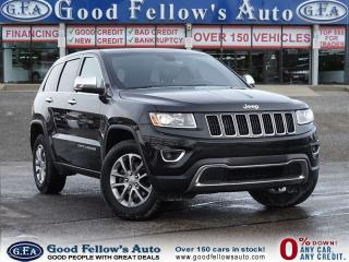 Used 2016 Jeep Grand Cherokee POWER REAR HITCH, LIMITED MODEL,4WD, LEATHER SEATS for sale in North York, ON