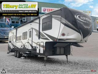 New 2018 HEARTLAND TORQUE 371 TOY HAULER FIFTH WHEEL for sale in Tilbury, ON