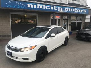Used 2012 Honda Civic EX winter wheels and summer wheels included for sale in Niagara Falls, ON