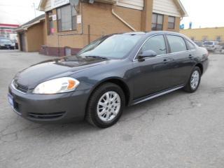 Used 2011 Chevrolet Impala Undercover Police Pkg Certified 153,000KMs for sale in Etobicoke, ON