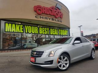 Used 2015 Cadillac ATS Standard AWD PWR ROOF LEATER H-TED SEATS PUSH STAR for sale in Scarborough, ON