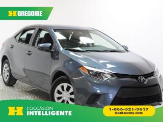 Used 2015 Toyota Corolla CE BLUETOOTH VITRE for sale in St-Léonard, QC