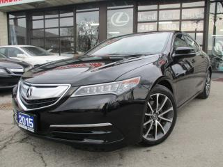 Used 2015 Acura TLX w/Technology Pkg -NAVIGATION-CAMERA-LOADED for sale in Scarborough, ON