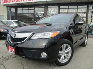 Used 2015 Acura RDX w/Technology Pkg AWD-NAVIGATION-CAMERA-LOADED for sale in Scarborough, ON