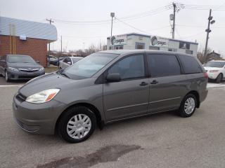 Used 2004 Toyota Sienna CE CERTIFIED for sale in Kitchener, ON
