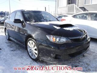 Used 2009 Subaru IMPREZA WRX 4D SEDAN AWD for sale in Calgary, AB
