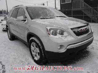 Used 2008 GMC ACADIA  4D UTILITY AWD for sale in Calgary, AB