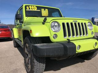 Used 2016 Jeep Wrangler Unlimited Sahara for sale in Owen Sound, ON