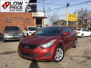 Used 2013 Hyundai Elantra GLS*AllPwrOpti*HtdSeats*Bluetooth*Warranty* for sale in York, ON
