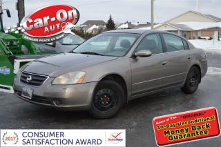 Used 2003 Nissan Altima S AUTO A/C CRUISE FULL POWER GROUP for sale in Ottawa, ON