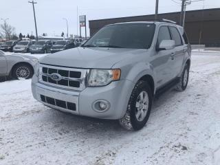 Used 2008 Ford Escape LIMITED 4WD for sale in Stettler, AB