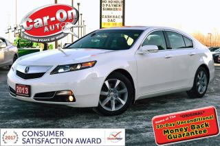 Used 2013 Acura TL LEATHER SUNROOF HTD SEATS LOADED for sale in Ottawa, ON