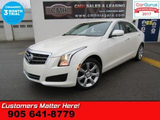 Used 2014 Cadillac ATS 2.0 Turbo Luxury  AWD, (NEW TIRES), NAV, CAMERA, PARKING SENSORS for sale in St Catharines, ON