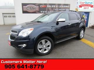 Used 2015 Chevrolet Equinox LT w/2LT  NAV, LEATHER, ROOF, HTD PWR SEATS, LANE DEPARTURE for sale in St Catharines, ON