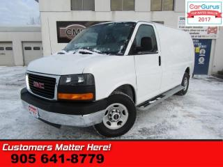 Used 2016 GMC Savana Cargo Van 1WT  CHROME BUMPERS & GRILL, BOARDS, CAGE, POWER GROUP for sale in St Catharines, ON